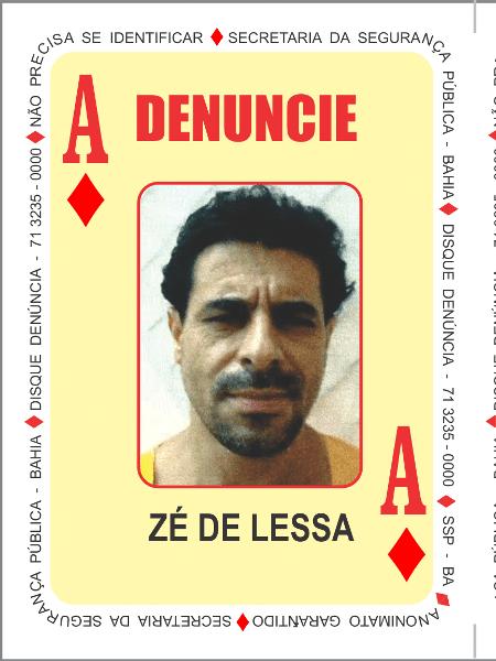 José Francisco Lumes, o Zé de Lessa, líder da facção BDM (Bonde do Maluco) da Bahia  - Divulgação/SSP-BA