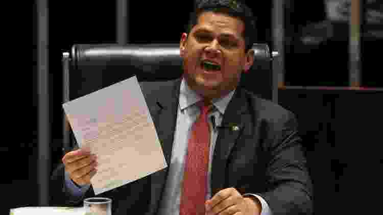 Davi Alcolumbre, presidente do Senado e do Congresso Nacional - Pedro Ladeira/Folhapress