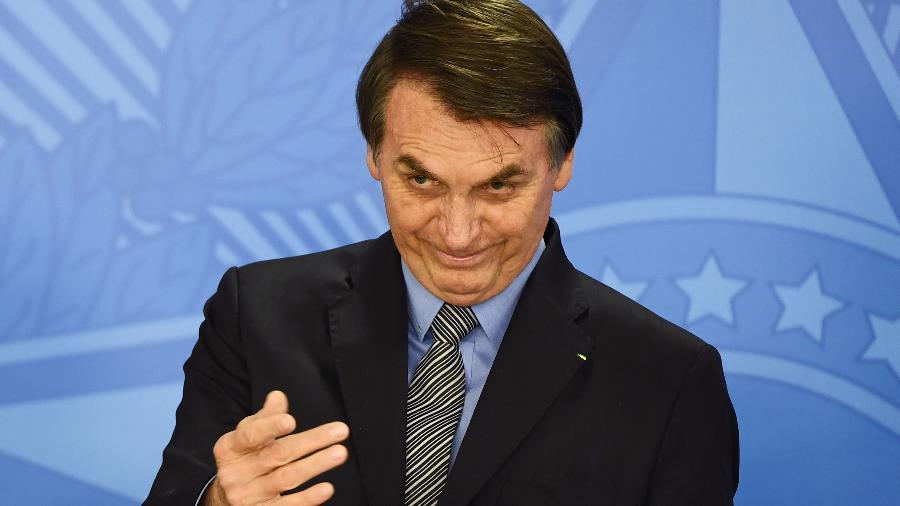 O presidente Jair Bolsonaro (PSL) - Evaristo Sá/AFP