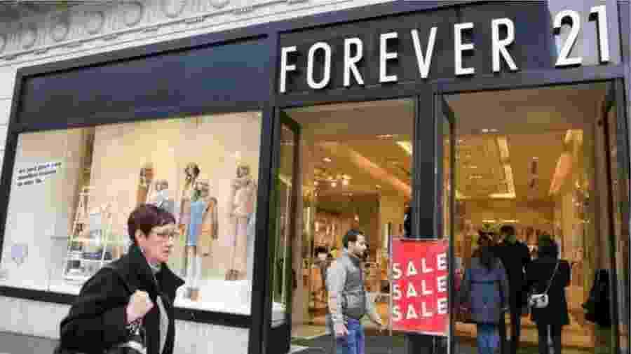 Pedido de falência da Forever 21 levará a fechamento de 178 lojas nos Estados Unidos - Getty