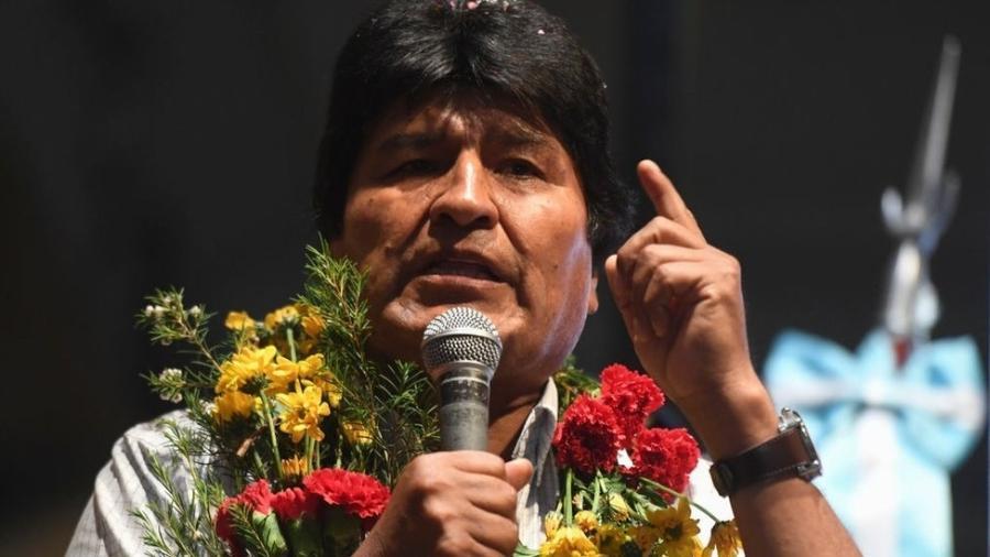 Evo Morales vai disputar seu quarto mandato consecutivo - Getty Images