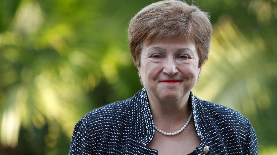 Diretora-gerente do FMI, Kristalina Georgieva - REMO CASILLI