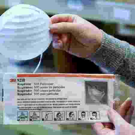 Máscara de proteção N95 é o modelo que será doado nos Estados Unidos - George Frey