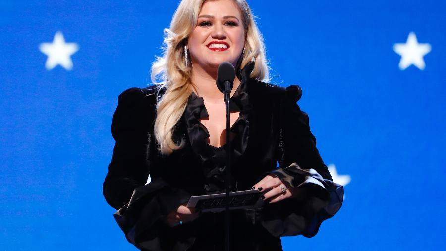"""Cantora vencedora do """"American Idol"""" Kelly Clarkson - MARIO ANZUONI"""