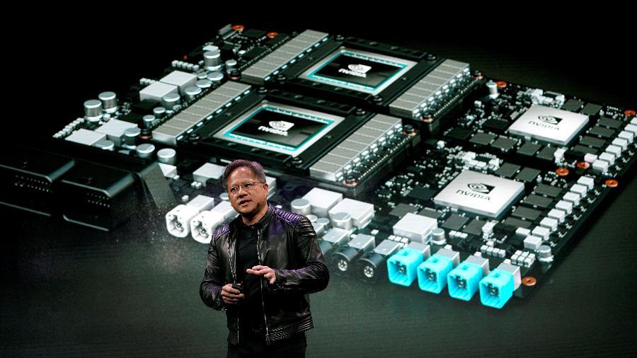 Presidente da Nvidia, Jensen Huang -