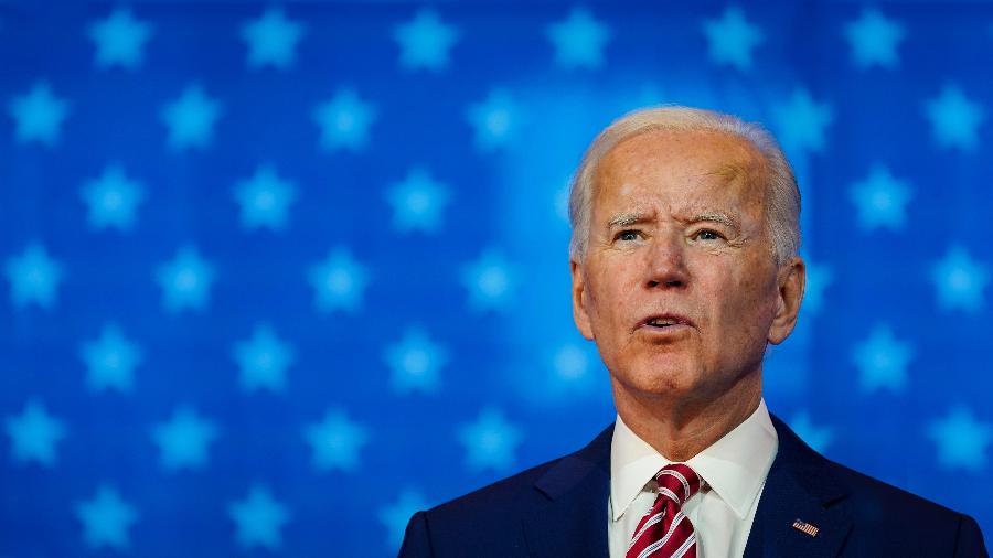 Joe Biden ainda não teve a vitória reconhecida por Donald Trump, o que pode atrasar transição - Drew Angerer/Getty Images