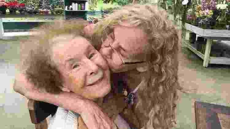 Pauline, hoje com 95 - Reprodução/Arquivo Pessoal - Reprodução/Arquivo Pessoal
