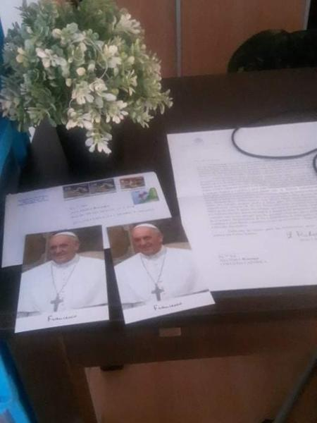 Papa enviou carta de solidariedade ao pai e a avó do menino Henry Borel - Arquivo Pessoal