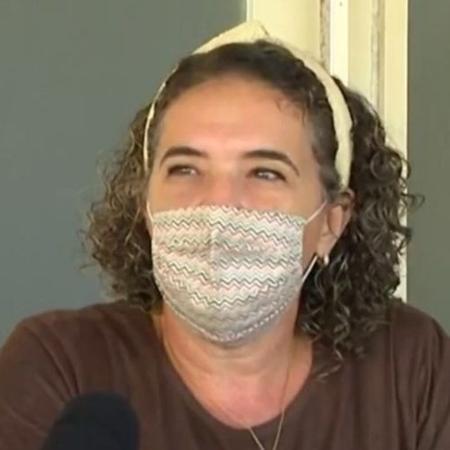 A fotógrafa Érica Soledade, em entrevista à TV Bahia - Reprodução/TV Bahia