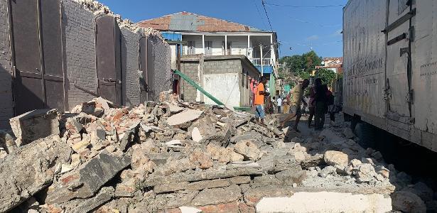 Magnitude 7,2 | Terremoto atinge o Haiti, e autoridades confirmam 304 mortes