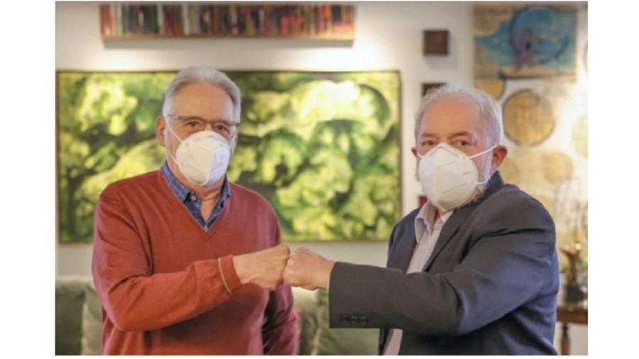 Lula e FHC juntos, em almoço promovido este ano por Nelson Jobim, que foi ministro dos dois - Ricardo Stuckert/Divulgação