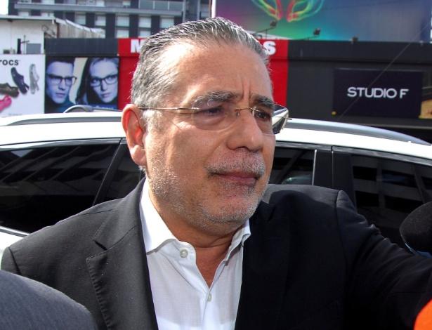 Ramón Fonseca Mora, na chegada ao Ministério Público, na Cidade do Panamá