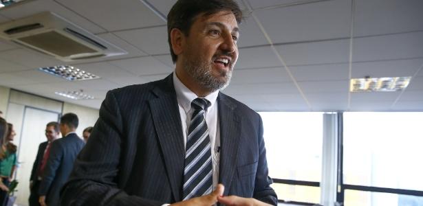 O diretor-geral da PF, Fernando Segovia, em foto de novembro de 2017