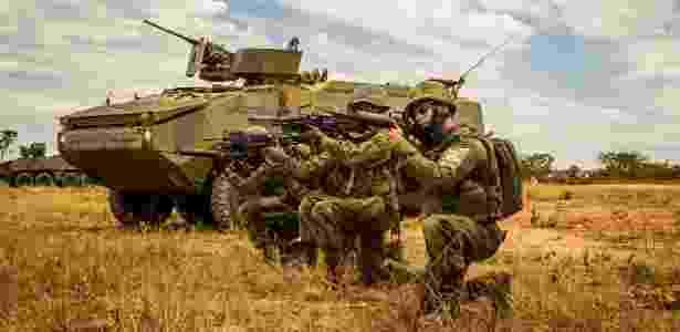 Militares participam de treinamento em Formosa, Goiás, em outubro de 2017 - Alexandre Manfrim/Ministério da Defesa