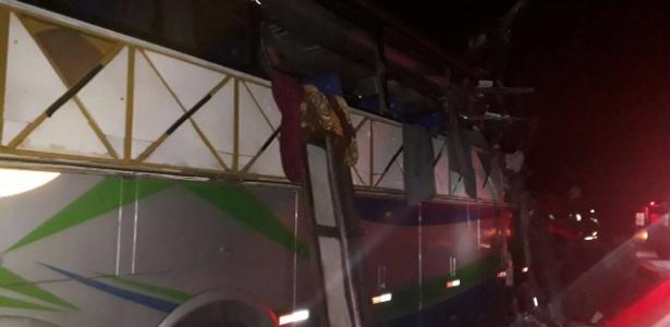 Grave acidente aconteceu no quilômetro 400 da BR-116, em Governador Valadares