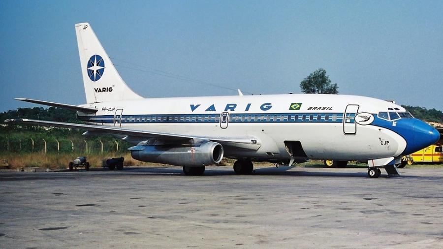Boeing 737-200 da Varig - Vito Cedrini/Airlines Net