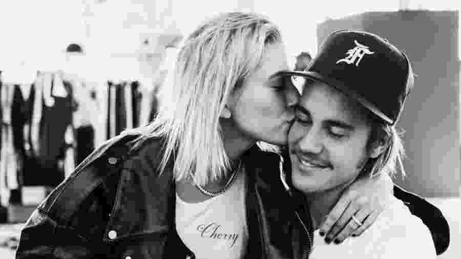 Justin Bieber e Hailey Baldwin - Reprodução/Instagram