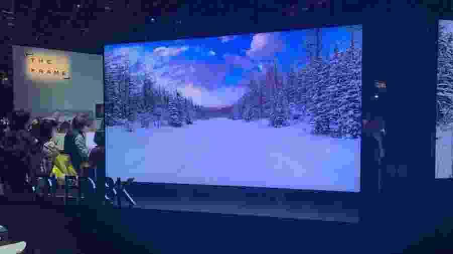 TV 8K QLED da Samsung de 98 polegadas - Bruna Souza Cruz/UOL