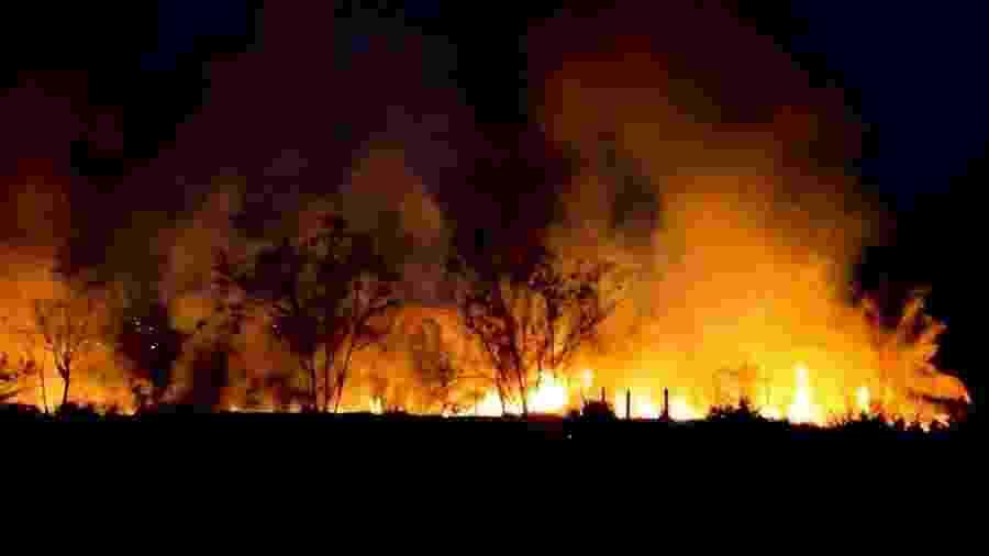 O número de incêndios na floresta amazônica aumentou 30,5% em 2019 em relação a 2018 - Reprodução/TV UOL