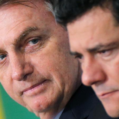Bolsonaro e Moro têm data de divórcio marcada - ADRIANO MACHADO