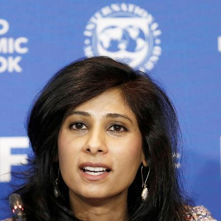 """Gopinath destacou caráter """"divergente"""" da recuperação econômica da crise provocada pelo coronavírus - RODRIGO GARRIDO/Reuters"""