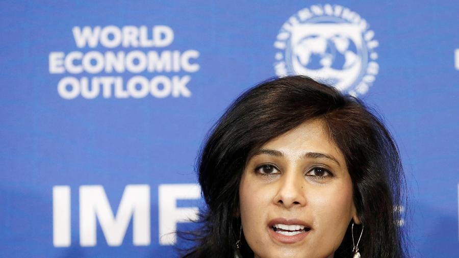 Gita Gopinath, economista-chefe do FMI - RODRIGO GARRIDO