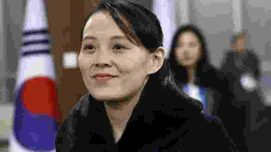 Kim Yo-jong é a única mulher no topo do comando da Coreia do Norte - Patrick Semansky - Pool /Getty Images