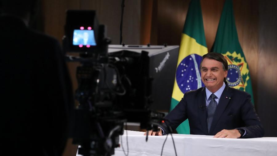 Jair Bolsonaro gravou discurso para a 75ª Assembleia Geral da ONU - Marcos Corrêa/PR