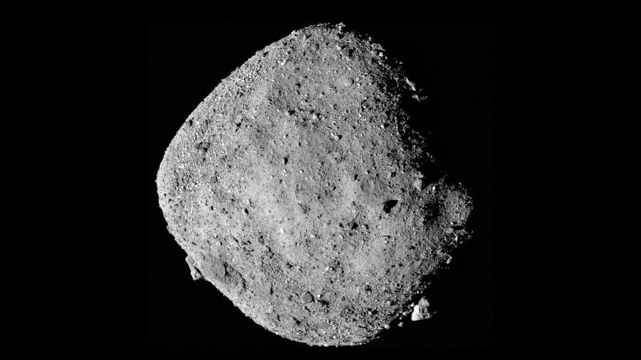 Asteroide 101955 Bennu - Nasa/Goddard/University of Arizona