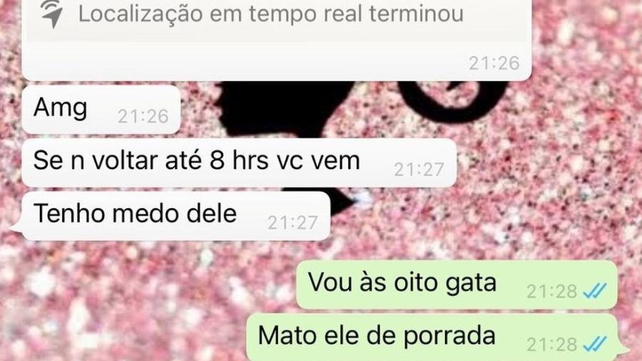 """""""Tenho medo dele"""": estudante de medicina envia mensagens para amiga antes de ser morta e enterrada em Minas - Divulgação/PM"""