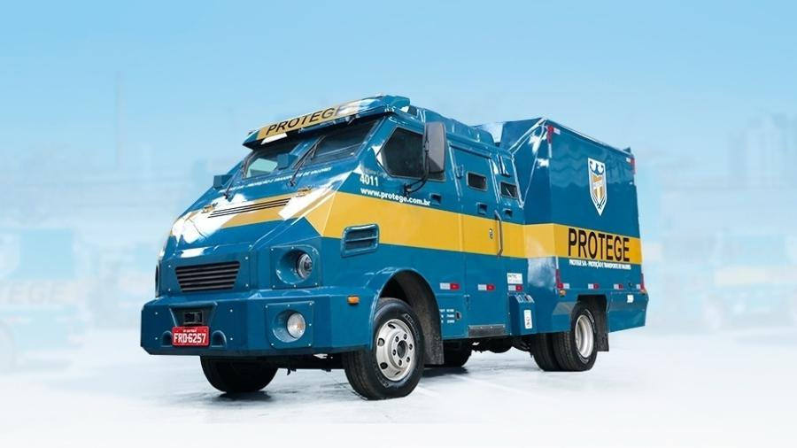 Veículo de transporte de valores da Protege - Divulgação