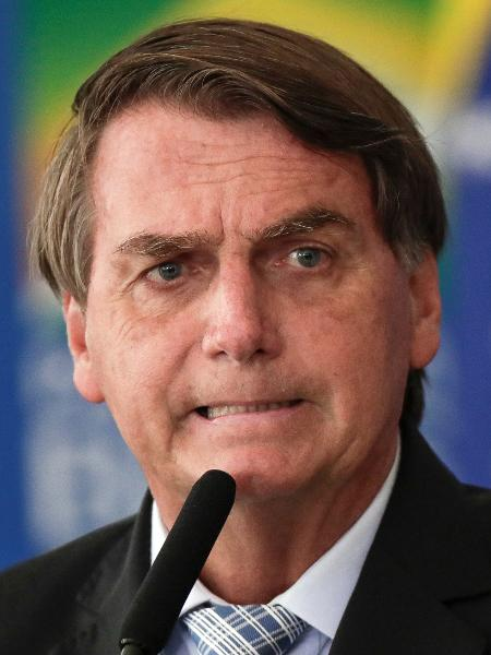O presidente Jair Bolsonaro (sem partido), durante cerimônia em Brasília - Ueslei Marcelino/Reuters