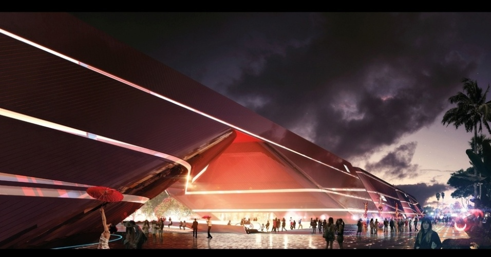 Este outro projeto, Três Centros Culturais e um Shopping de Livros, no distrito de Longgang, em Shenzhen, China, vai reunir um museu de arte, centro de jovens e uma grande loja de livros. A proposta é do escritório Mecanoo Architects e foi escolhida como a vencedora do prêmio na categoria Regeneração Cultural.