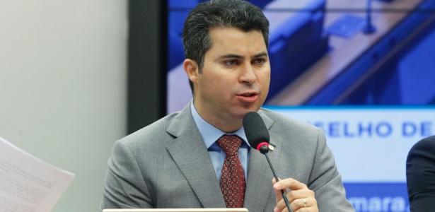 O deputado federal Marcos Rogério (DEM-GO), relator do processo de cassação de Cunha