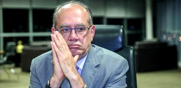 22.set.2016 - O ministro Gilmar Mendes, presidente do TSE, durante entrevista