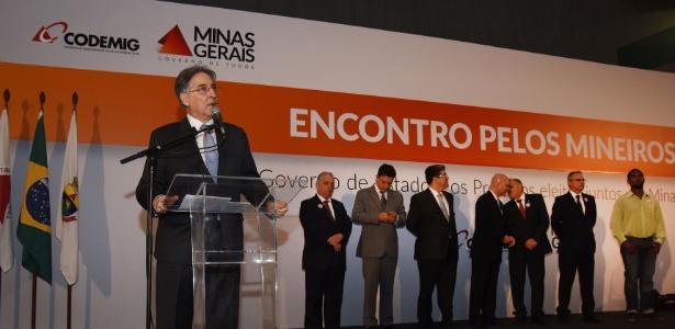 Governador Fernando Pimentel (PT-MG) durante evento em novembro de 2016 - Manoel Marques - 10.nov.2016/Imprensa MG