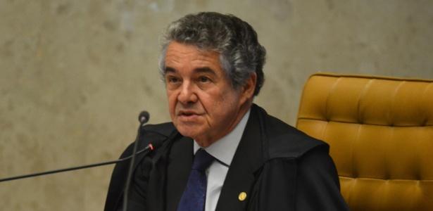 7.dez.2016 - Ministro Marco Aurélio Mello durante sessão do STF