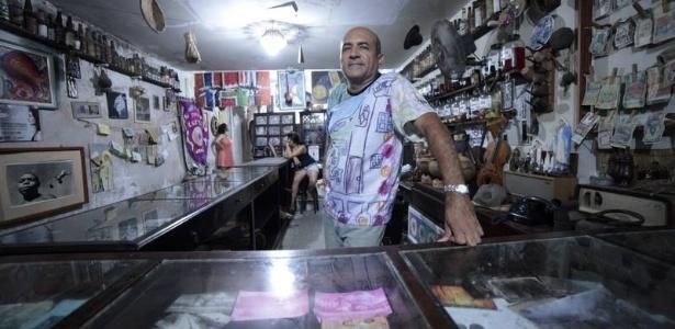 Carlos Alberto Vieira, proprietário da Cachaçaria Philipéia, em João Pessoa