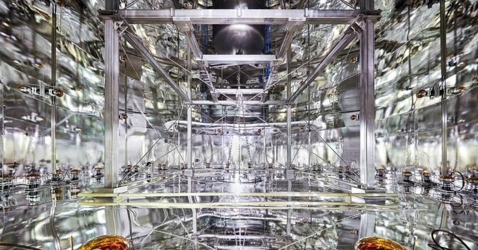 """O projeto Xenon realiza pesquisas sobre a chamada """"matéria escura"""". Este laboratório fica na região central da Itália"""