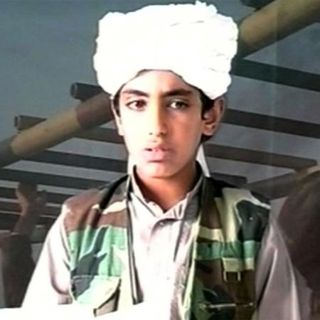 Hamza bin Laden, filho de Osama bin Laden, em foto sem data - Reprodução