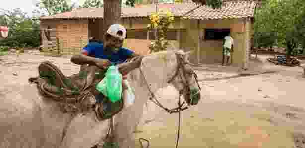 Quilombo cavalo - Fernando Martinho/Repórter Brasil - Fernando Martinho/Repórter Brasil