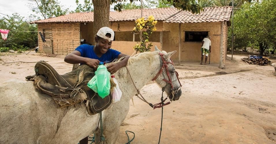 Embora mantenha um modo de vida tradicional, muita coisa mudou no quilombo Nazaré, comunidade que conseguiu se livrar do sistema do foro
