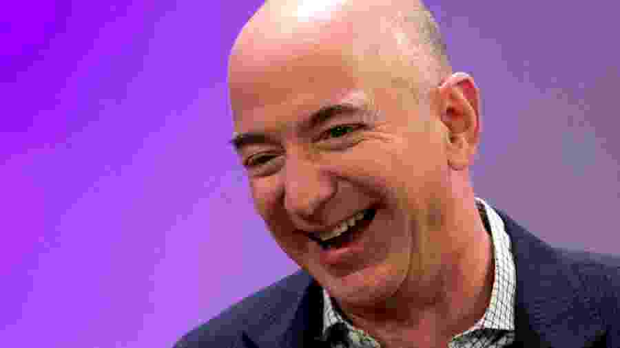 Jeff Bezos, fundador da Amazon - Mike Segar/Reuters