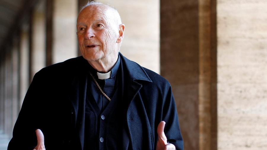 Theodore Edgar McCarrick, que foi cardeal e arcebispo emérito de Washington, foi afastado pelo papa Francisco - Alessandro Bianchi/Reuters - 14.fev.2013