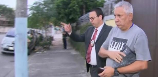 Ex-policial Alzemar Conceição dos Anjos foi preso no Rio