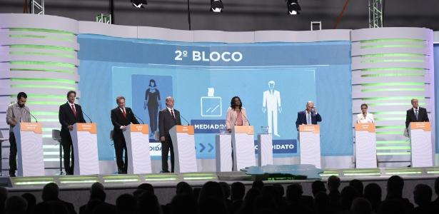 20.set.2018 - Candidatos à Presidência participam do debate da TV Aparecida