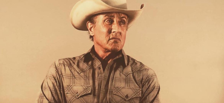 """Sylvester Stallone nos bastidores de """"Rambo 5"""" - Divulgação/Instagram"""