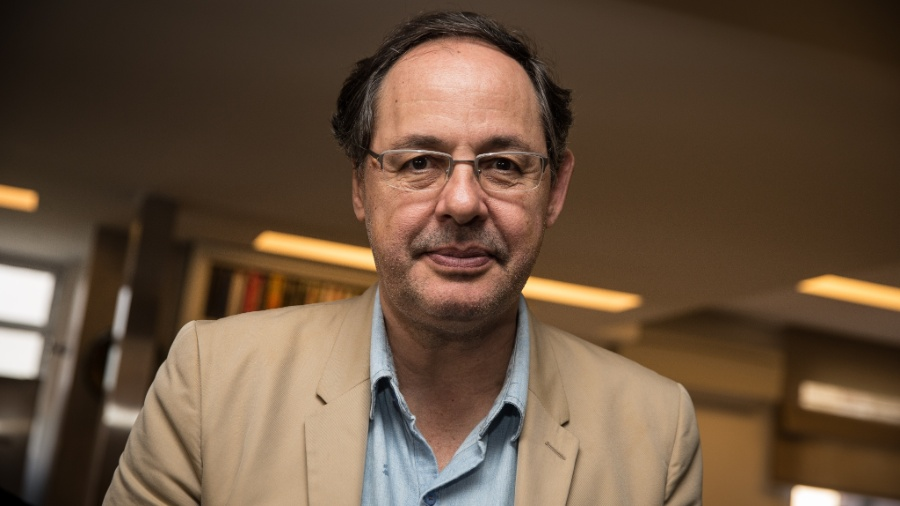 O economista Eduardo Giannetti  - Zanone Fraissat - Folhapress