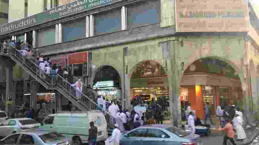 Rua popular em Riad, capital da Arábia Saudita - Luciana Amaral/UOL