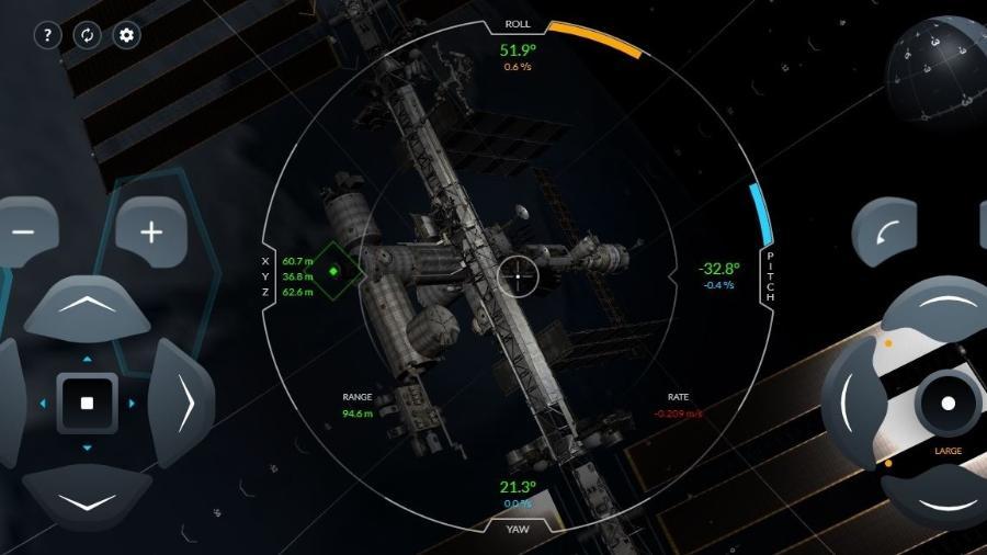 Simulador online da SpaceX mostra como é a sensação de controlar nave espacial - Reprodução